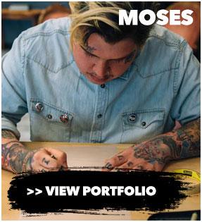 Moses Cincinnati Tattoo artist