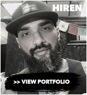 Hiren Patel Cincinnati Tattoo artist