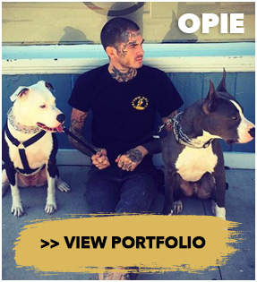 Opie Left Hands Cincinnati Tattoo artist